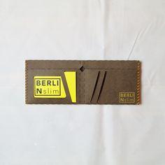 Berlin slim Wallet - Geldtasche aus veganem Leder