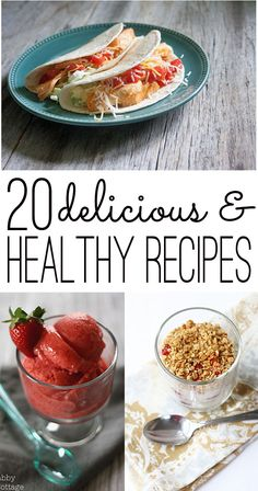 healthy recipes for breakfast, lunch, dinner & dessert