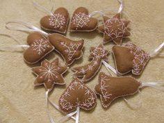 Karácsonyi dekoráció / Felt Christmas Decoration