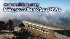 Snowdon Mountain Railway - A Majestic train journey to the Summit of Snowdon, the highest peak in Wales.
