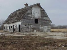 Old barns make me think of how many memories must have taken place in them.
