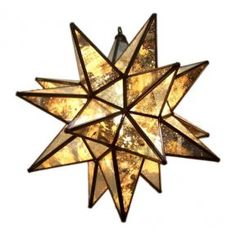 $120  Moravian Star light - would be great in a foyer