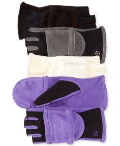 Isotoner Hybrid Convertible Glove - Handbags & Accessories - Macy's