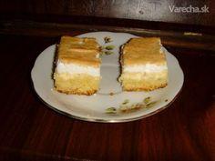 Klasický tvarohový koláč - Recept