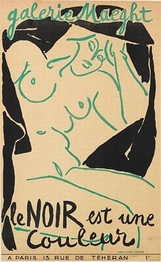 Henri Matisse, Le Noir est Une Couleur.
