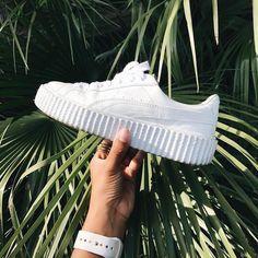 Sneakers women - Puma Fenty Creeper white