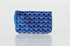 JULIETTE - Sacs - Pochette imprime liberty, velours bleu, jean, argent :: So Chouette