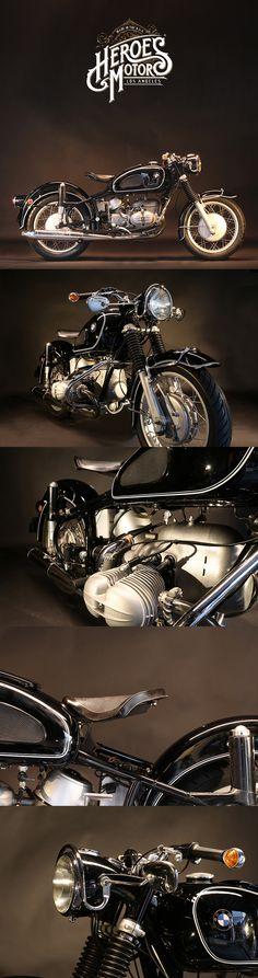 Heroes Motors - Find classic motorbike, vintage motorcycles in Los Angeles. Bike Bmw, Bmw Motorcycles, Vintage Motorcycles, Custom Motorcycles, Moto Scooter, Moto Bike, Bmw Boxer, Bmw Vintage, Vintage Bikes