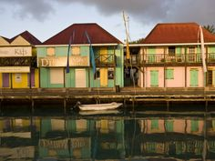 Heritage Quay Shopping District in St. John's, Antigua, Leeward Islands, West Indies, Caribbean