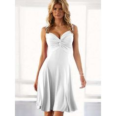 I want to show you the Summer white dresses for women! Share your opinion, it's interesting.