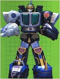 The Kongazord was the second Megazord introduced in the Power Rangers Wild Force series. In the episode it was first introduced, the Rangers discovered that the Black and Polar Bear Zords—which were originally discovered by Taylor, the Yellow Ranger—had overloaded the Wild Force Megazord's energies and depleted Red Lion's endurance in holding it together. During a battle with a Bulldozer Org, the green Gorilla Zord was introduced, and the Rangers used its strength combined with the Bl...
