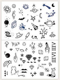 Cute Tiny Tattoos, Cool Small Tattoos, Small Tattoo Designs, Little Tattoos, Mini Tattoos, Tattoos For Guys, Key Tattoos, Tattoos Skull, Foot Tattoos