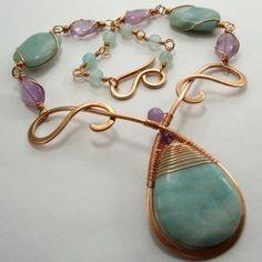 Abby Hook's Mermaid's Teardrop Necklace, . , , , . .