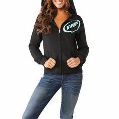 FMF Apparel Womens Glitz Zip-Up Hoodie