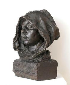 Camille Claudel 1864-1943  Le Psaume (La Prière)/ The Psalm (The Prayer) 1889    Bronze sculpture via Carol Sheko