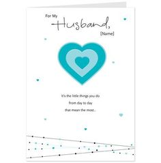 Little Things Husband Birthday Card-Hallmark Cards Aus