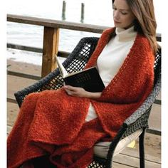 Throw - FREE Knitting Pattern - Planet Purl    http://www.ravelry.com/patterns/library/heaven-n-hell-throw