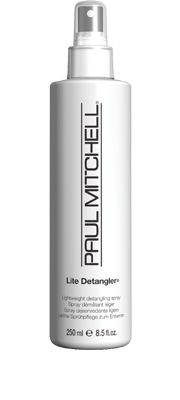 Lite Detangler®  Lightweight Detangling Spray    Make it easier to brush through and style tangled tresses! Leaves hair full of volume and shine. Fragrance-free formula is ideal for anyone sensitive to scents.  Lightweight conditioners help to boost volume and shine. #paulmitchell #hair #hairproduct #hairdresser #crueltyfree