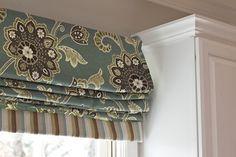 Roman Shade - traditional - Roman Shades - Other Metro - Shanda Hayden Designs