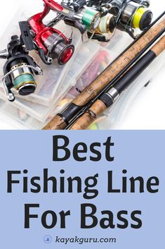 Best Fishing Line For Bass - Different types of line, including Braided, Monofilament, Fluorocarbon, Kayak Fishing Tips, Fly Fishing Line, Deep Sea Fishing, Best Fishing, Fishing Boats, Fishing Games, Fishing 101, Fishing Videos, Fishing Stuff