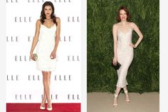 Want to instantly look 10 pounds thinner and long-legged, to boot? Keep it simple and try the classic ankle-cross stance. Step forward and tightly over, resting your weight on the front foot. Or, lean on your back leg and gingerly crisscross your other leg at the ankle. Done and done. Getty Images  - ELLE.com
