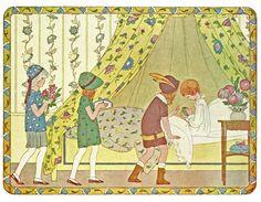 The Invalid's Birthday by Henriette Willebeek Le Mair.