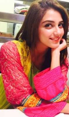 Maya Ali. Actress from Pakistan. One word : Stunning.
