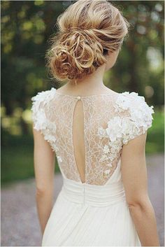 Lace...such a classic look.