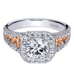 #ABRYANS #GabrielNewYork #Engagement #RoseGold #WhiteGold