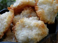 Coconut Macaroons – Square Meals