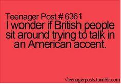 I wonder?
