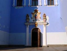 Door in St Michael's Monastery in Kiev, Ukraine