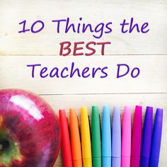 When I think about the qualities of the most effective teachers I know, either from my own education or from colleagues I've had the pleasur...