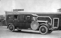 Bus transportation in the 1920s, I'm assuming this is how kids got to school in those days