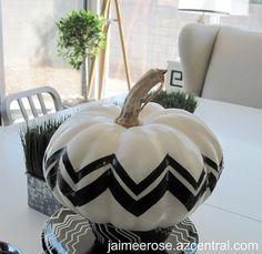 jaimee rose › Missoni Pumpkin D-I-Y: Fall Craft Week Begins