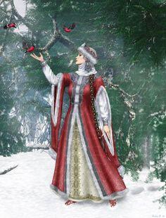 Снегурочка-all Russian girls want to be like Snegurochka during New Year Holidays