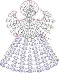 ♝♝ Porta-Copos Anjo com Crochê. -   /   ♝♝ Beverage Coasters  Angel withal Crochet.                                                                                                                                                                                 Mais