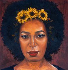Purchase 'Sunflower Series Solo' by Chidinma Dureke #buyart #ChidinmaDureke #Art