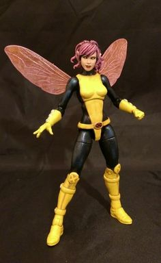Pixie (Marvel Legends) Custom Action Figure by Face Base figure: Spider-girl