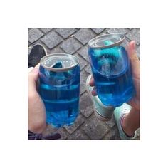 Drink Tumblr, Percy Jackson, Grunge, Blue Drinks, Everything Is Blue, Blue Food, Photocollage, Aesthetic Food, Alcohol Aesthetic