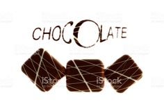 Chocolates With Text stock photo 112810581 - iStock