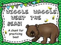 A funny chant for practicing beat! Includes a powerpoint presentation and printable beat sheets.