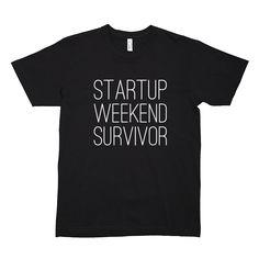 Startup Weekend Survivor Tee