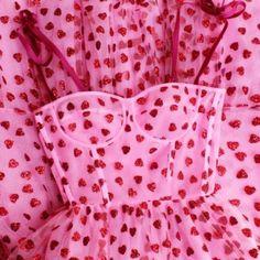 """""""heart dress by Lirika Matoshi"""" Pretty Dresses, Beautiful Dresses, Fashion Week, Fashion Outfits, High Fashion Dresses, Midi Dresses, Pink Fashion, Fashion Art, Mode Chanel"""