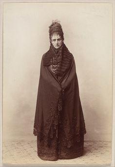Countess de Castiglione standing, 1893 by Pierre-Louis Pierson