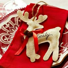 Reindeer name boards
