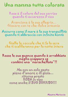Learning Italian Through Vocabulary Italian Phrases, Italian Words, Italian Quotes, Mamma Rosa, How To Speak Italian, Phrases And Sentences, Italian Vocabulary, Kids Fall Crafts, Dear Mom