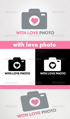 With Love Photo Logo
