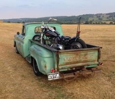 1962 Chevy C10 Stepside truck #patina #rust