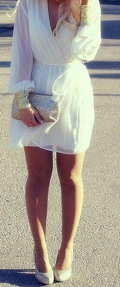 Un vestido increíble, que se puede utilizar durante el día y la noche. #Fashion
